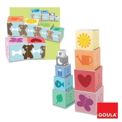 Goula 55218 Cubi impilabili 1-10