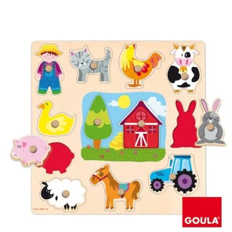 Goula 53025 Puzzle Profili Fattoria