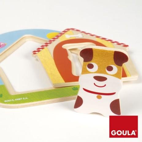 Goula 53124 Puzzle La casa di Tobby