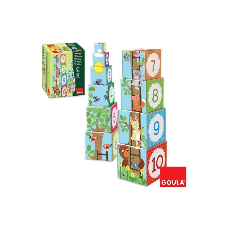 Goula 55219 Cubi impilabili Bosco