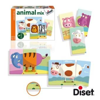 Diset 63975 Animali Mix