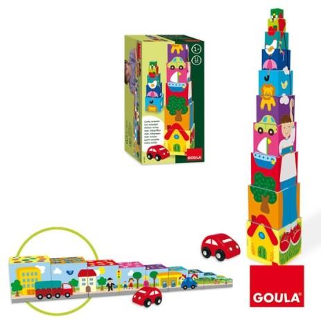 Goula 55202 Cubi impilabili Macchina