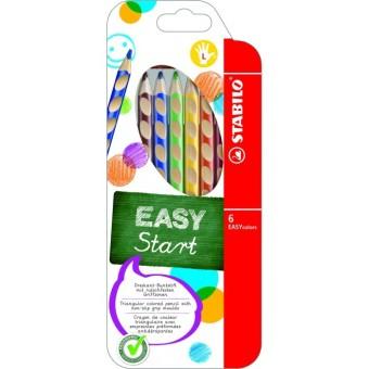 Stabilo pastelli Easycolors triangolari per mancini