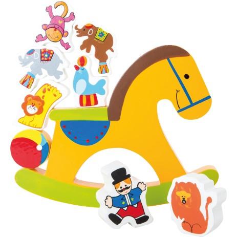 Small foot company bilico cavallo a dondolo 10150