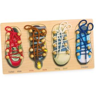 Small foot company 8158 Allacciare le scarpe