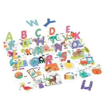 Headu 20362 Alfabetiere 3D Montessori