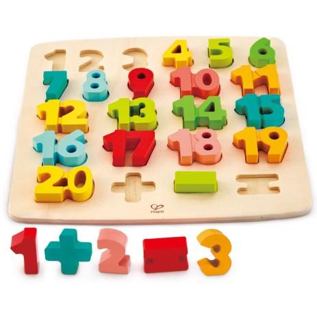 Hape E1550 Puzzle dei numeri