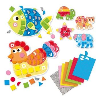 Goula 53149 Animali mosaici foam