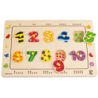 """Hape E1500 Puzzle """"Abbina i numeri"""""""