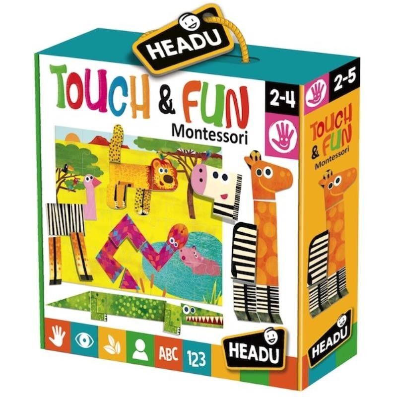 Headu 21321 Montessori Touch & Fun