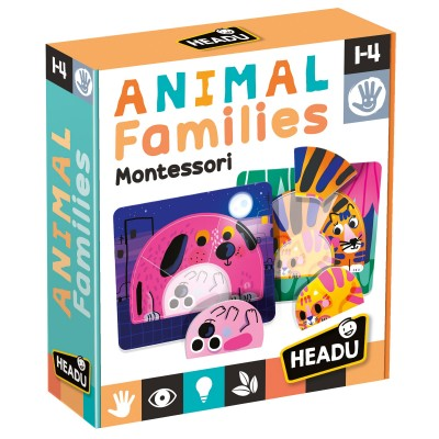 Headu MU25800 Animal families Montessori