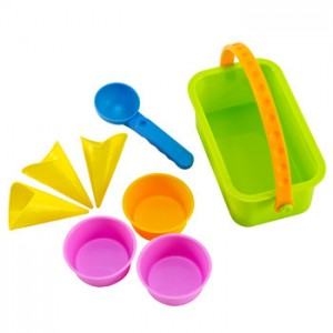 set gelataio giocattolo sabbia