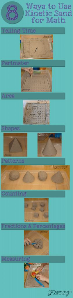 attività kinetic sabbia matematica