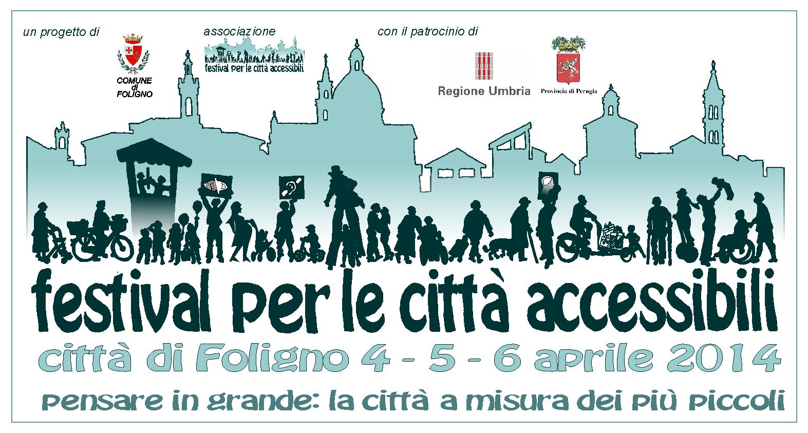 Orso Azzurro al Festival delle città accessibili di Foligno!