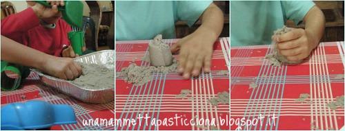 foto 1,sabbia Kinetic, giochi educativi, autismo, orso azzurro store