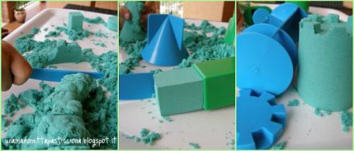 giochi con la sabbia, shape it, autismo, orso azzurro store, giochi didattici