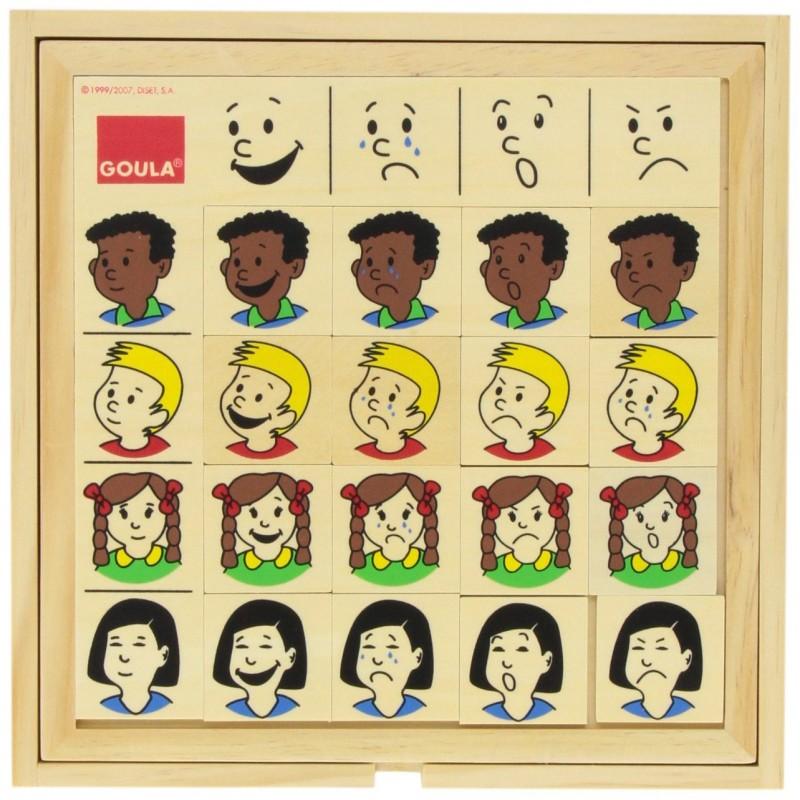 gioco educativo per imparare a riconoscere le espressioni del volto