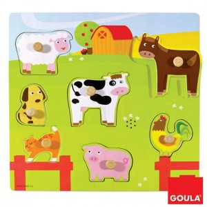 puzzle sonoro fattoria goula