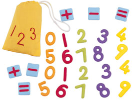 sacchetto numeri e operazioni