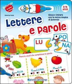 supercip-lettere-e-parole-edizioni del borgo