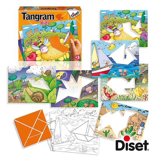 Il gioco del tangram per allenare la concentrazione, la percezione spaziale e la creatività!