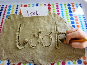 writing-in-kinetic-sand
