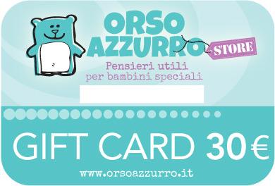 Gift Card di Orso Azzurro Store